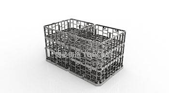 The role of the material tray in production