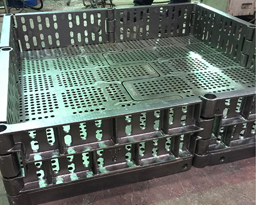 Large combined feed basket