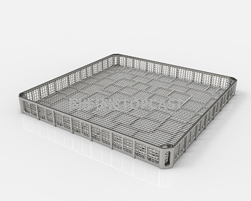 Heat treatment basket